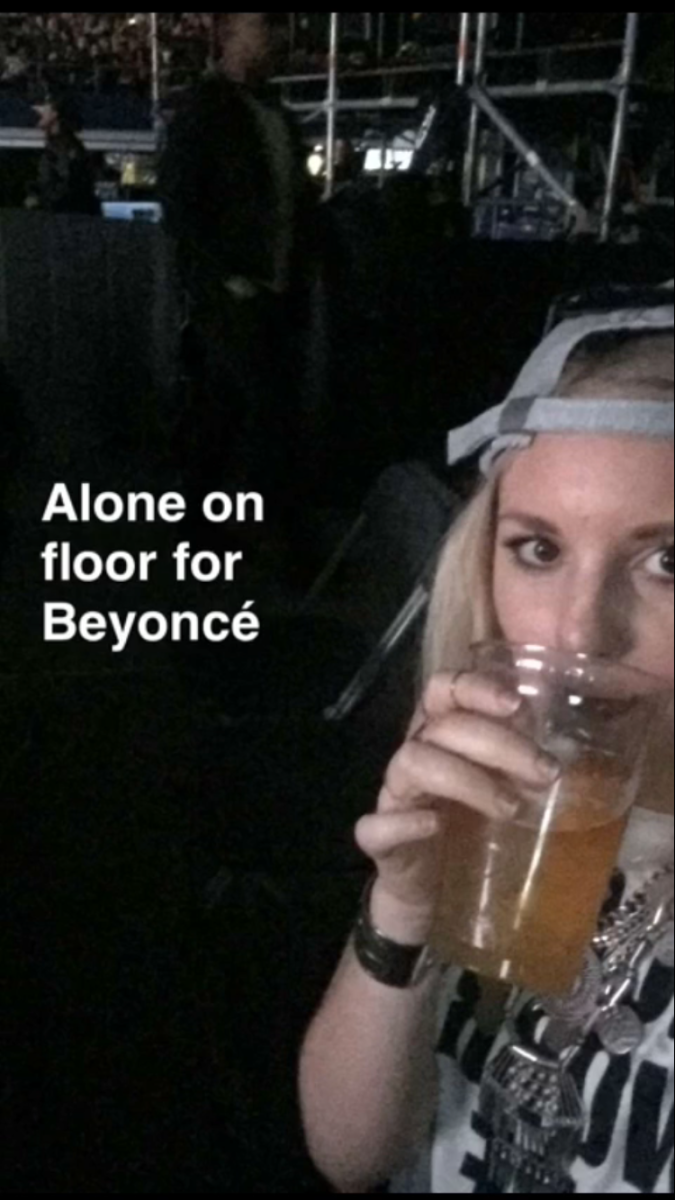 The True Story Of Being A 25-Year-Old And Sitting At A Beyonce Concert Alone