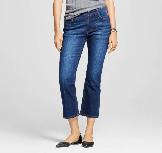 high waist crop flare denim who what wear target