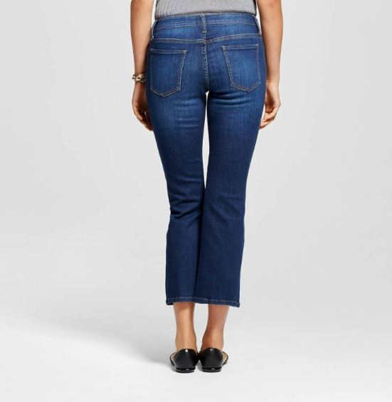 high waist crop flare denim who what wear target_back