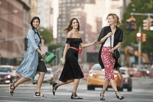 location-group-of-models-crossing-the-street-wearing-who-what-wear-collection