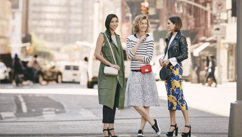 location-group-of-models-standing-in-the-street-wearing-who-what-wear-collection