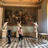 inside the uffizi!!!